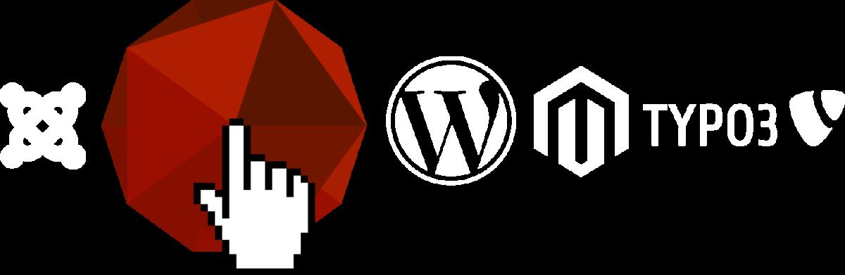 Ompria als alternatief voor WordPress, Joomla, Typo3 of Mangento