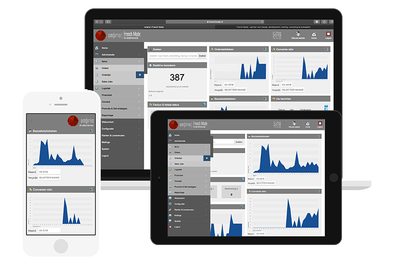 Ompria - veelzijdige administratieve bedrijfssoftware